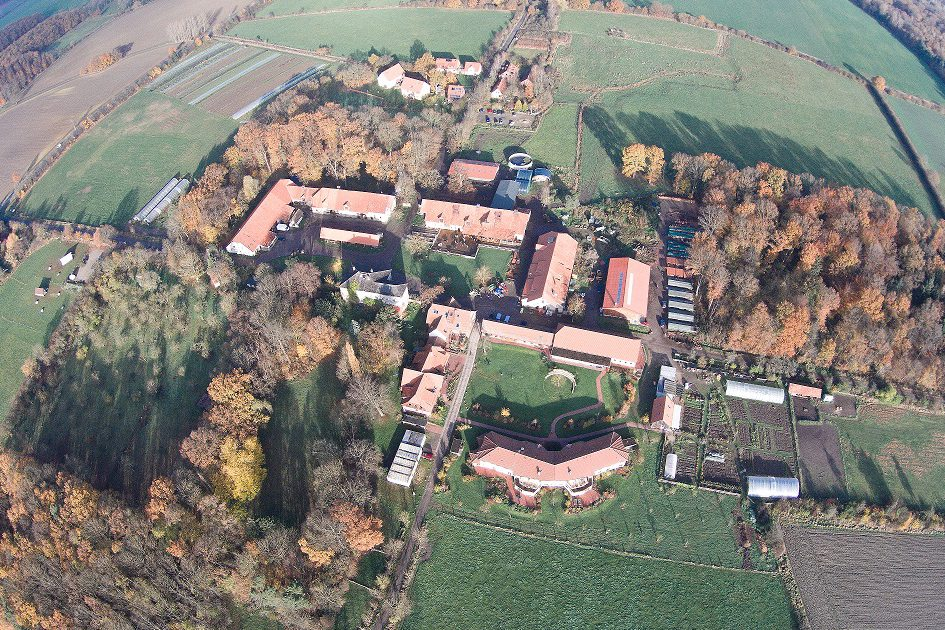 Luftbild von Gut Adolphshof